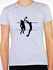 VOLLEYBALL SILHOUETTE - Sports / Ball / Beach / Novelty Themed Womens T-Shirt