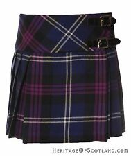 Girls Wool Billie Kilt, Heritage Of Scotland Tartan
