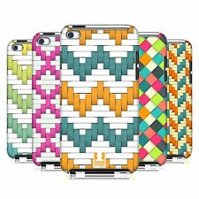 HEAD CASE DESIGNS WOVEN PAPER PATTERN CASE COVER FOR APPLE iPOD TOUCH 4G 4TH GEN