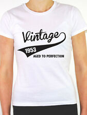 VINTAGE 1953 AGED TO PERFECTION -Birth Year/Birthday Gift Themed Women's T-Shirt