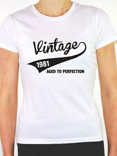 VINTAGE 1981 AGED TO PERFECTION -Birth Year/Birthday Gift Themed Women's T-Shirt
