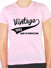 VINTAGE 1993 AGED TO PERFECTION -Birth Year/Birthday Gift Themed Women's T-Shirt