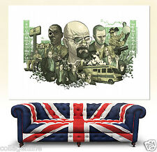 BREAKING BAD Walter White Movie Poster Giant Wall Art Print Picture 051 new