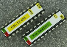 GPIO & PWM IC for Raspberry Pi with I2C or Serial Interface, oprional PCB kit