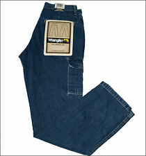 Bnwt Authentic Womens Valley Wrangler Cargo Combat Jeans Trail Fit Blue