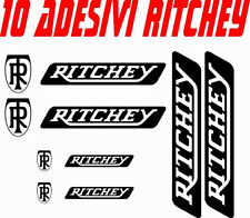 KIT 10 ADESIVI RITCHEY BICI STICKERS RITCHEY BIKE