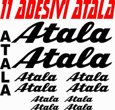 KIT 11 ADESIVI ATALA BICI STICKERS ATALA BIKE