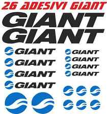 KIT 18 ADESIVI GIANT BICI STICKER BIKE