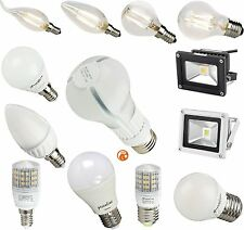 2 - 13 Watt LED Birne Kerze Lampe Fluter Leuchte E14 E27 G9  optional dimmbar