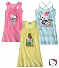 New Girls Hello Kitty Dress Hello Kitty Nightie Dress Age 3-10 Years
