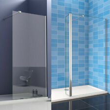 Walk In Shower Enclosure Wet Room Tall Cubicle 8mm Easyclean Glass Screen Panel