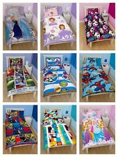 Official Children's Kids single duvet cover and pillow bedding sets Reversible