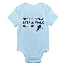 CRAWL WALK SCUBA DIVE - Diving / Swimming / Novelty / Fun Themed Baby Grow /Suit