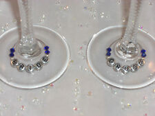 Light Pink Wine Glass Charms - Parties,Weddings Favours,Hen Party Gift Idea