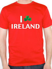 I LOVE IRELAND - Shamrock / Irish / St Patrick's Day / Fun Themed Mens T-Shirt