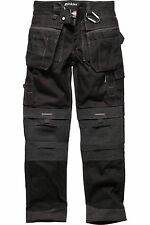 Dickies Eisenhower Multi-Pocket PRO Trousers + Kneepads (WD300) Work Building
