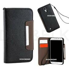 Samsung Galaxy Grand Duos 2 G7106 Leather Flip Case Cover Pouch Table Wallet