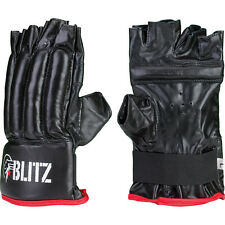 GUANTI MEZZE DITA MMA FINGERLESS BAG GLOVES per Street FIGHTER KARATE GUANTINI