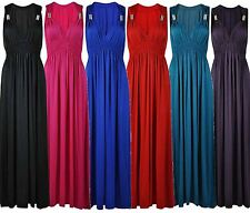 New Ladies Plus Size Gypsy Boho Ring Maxi Dress 8-22