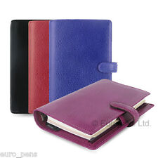 Filofax Finsbury Leather Personal Size Organiser - All Colours Available