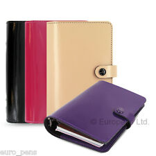 Filofax Original Patent Leather Personal Size Organiser - All Colours Available