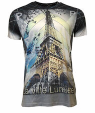 Jack & Danny's La Ville Lumiere Sublimation T-shirts White