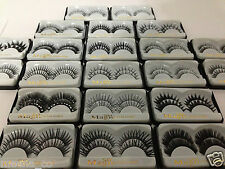 New 10 Pairs Thick Natural Fake False Eyelashes With FREE GLUE