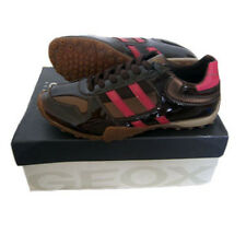 GEOX Snake Chaussures Baskets J8312T Taille 26-37 NEUF Chaussures de sport Cuir