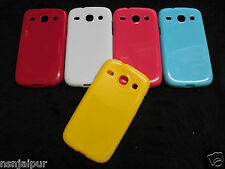 BACK COVER SOFT SILICONE GLOSSY FINISHED FOR SAMSUNG GALAXY CORE I8260/I8262