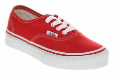 Vans Authentic Unisex Trainers Red