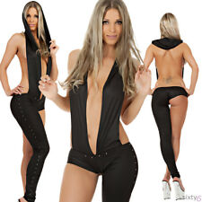 Sexy Gogo Catsuit Overall Kylie Style Hotpants Dance Party Clubwear Anzug