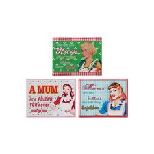 Mum Retro Vintage Metal Tin Wall Plaque Shabby Chic Novelty Gift