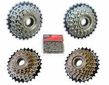 Mountain Road Bike Bicycle Shimano 6/7 Freewheel Sprocket + Multi Speed Chain
