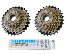 Shimano TZ21 TZ20 Bike Bicycle 6 7 Speed Freewheel Sprocket Cog IG51 8 Chain