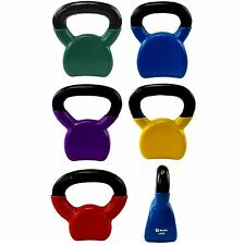 Vinyl Training Kettlebells Strength Training Fitness Home Gym Workout Kettlebell