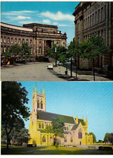 BOLTON TOWN HALL POSTCARDS GREATER MANCHESTER CHURCH CIVIC CENTRE ASSORTED
