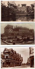 ENGLISH HOUSE POSTCARD ASSORTMENT HISTORIC MANORS MANSIONS STATELY HOMES HOUSES