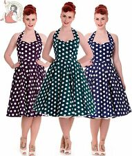 HELL BUNNY 50's rockabilly MARIAM polka dot DRESS