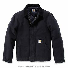 Carhartt DUCK TRADITIONNEL veste, noir, noir, S, M, L, XL, XXL, EJ022