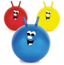 NEW CHILDRENS KIDS OUTDOOR GARDEN TOY SPACE HOPPER JUMP BOUNCE BALL 3 COLOURS