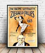 Ziegfeld Follies - Vintage Theatre Advertising, Poster Reproduction
