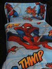 NEW SPIDERMAN 2  DESIGNS - MANY SIZES - SPACESAVER,  COT OR COTBED BUMPER  SET