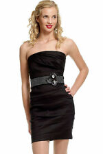 Short Black Party Dress Cocktail Evening Prom Wedding Dress