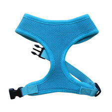 SOFT MESH BLUE DOG AND PUPPY HARNESS - XS to XL RichPaw