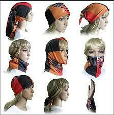 MULTI FUNCTIONAL STYLISH UNISEX BANDANA SCARF,SEAMLESS HEADNECKER BANDANAS
