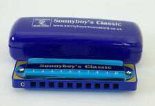 Sonnyboy's Classic Harmonica available in keys of C, D, E, F, G, A, Bb - blues