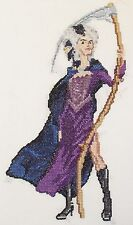 Discworld Susan Deaths granddaughter counted cross stitch kit/chart 14s aida