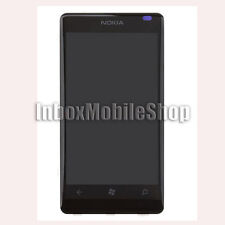 Black New LCD Display Touch Screen Digitizer Assembly with Frame Nokia Lumia 800