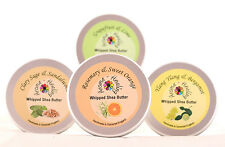 Pure Aromatherapy Shea Butter Whips Body Butter Moisturiser Collection Oils