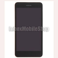 Black LCD Display Touch Screen Digitizer Assembly with Frame Nokia Lumia 630 635